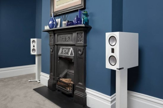 Monitor Audio Studio - Boekenplank Luidspreker - Wit