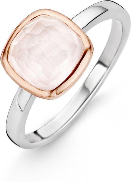 TI SENTO Milano Ring 12063LP - Maat 60 (19 mm) - Gerhodineerd Sterling Zilver