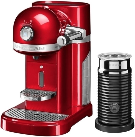 Nespresso KitchenAid Artisan 5KES0504ECA/3 + Melkopschuimer