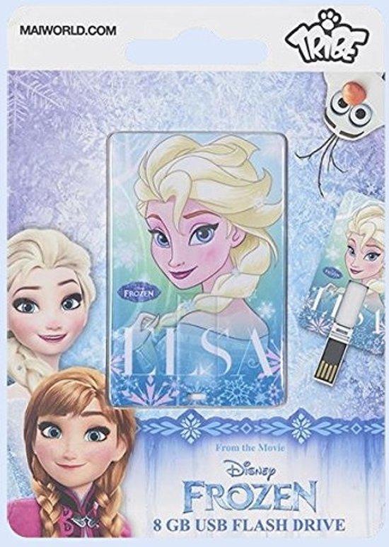 Tribe Iconinc Card - Disney - Elsa - USB-stick - 8 GB