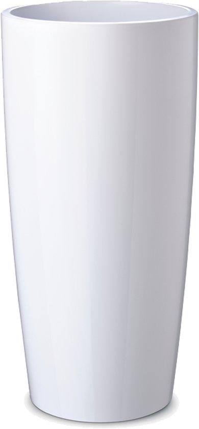 Witte Bloempot Vierkant.Bloempot Musa 35x90 Wit
