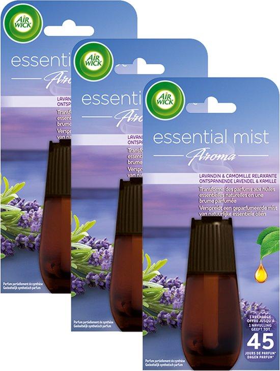 Air Wick Essential Mist Lavendel - navulling - 3 x 20 ml - Grootverpakking