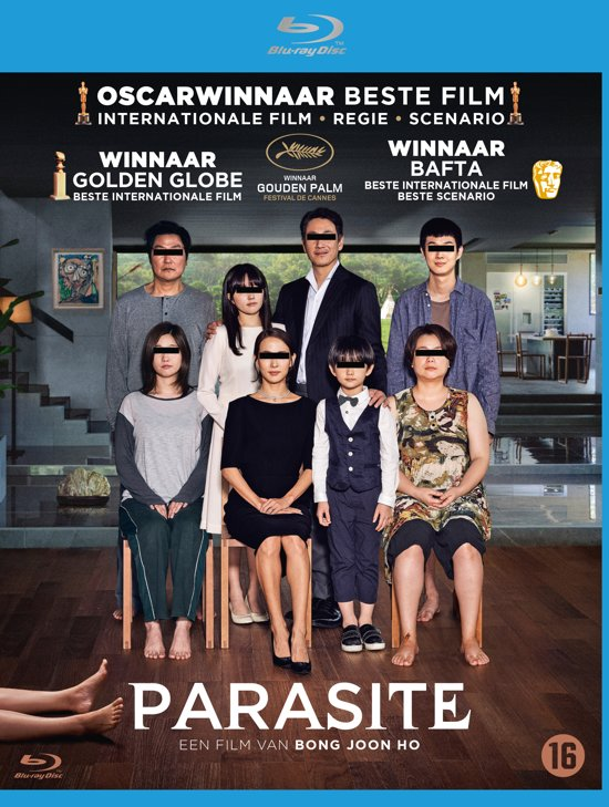 DVD cover van Parasite (Blu-ray)