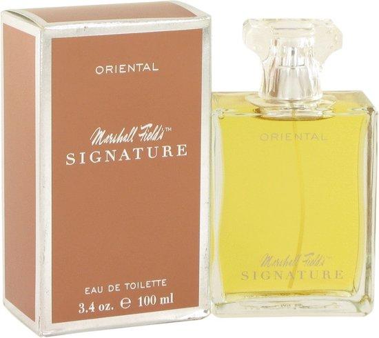 Marshall Fields Signature Oriental 100 ml - Eau De Toilette Spray (Scratched box) Damesparfum