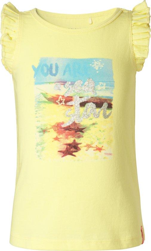 Noppies Shirt Fairland - Light Yellow - Maat 98