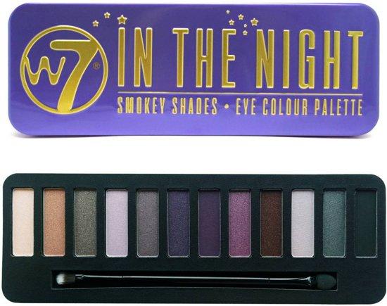 W7 In The Night Smokey Shades Eye Colour - Oogschaduw Palet