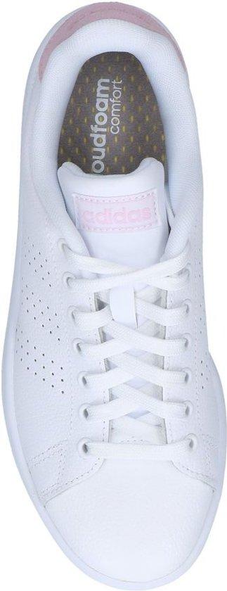 Adidas Advantage Dames Sneakers - Ftwr White/light Granite