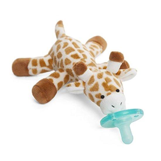 Wubbanub - Giraffe - Speenknuffel / Knuffelspeen /Winnaar beste babyproduct in 2014