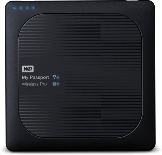 WD My Passport Wireless Pro 3.0 - Externe harde schijf - 2 TB