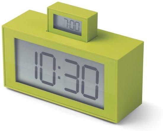 Lexon InOut Wekker 7,9 x 11,5 cm