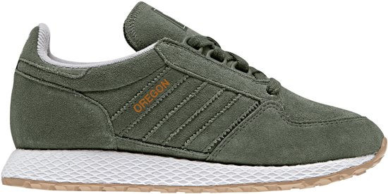 ecfa8013e5a adidas Forest Grove Sneakers - Maat 39 1/3 - Unisex - donker groen/