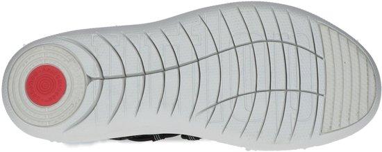 Ghille 546 on Sneakers black Sneaker Zwart;zwarte Fitflop Uberknit L26 Slip Grey Sportief Laag Maat soft Textile 38 Dames IOxgxqwEtp