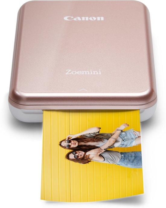 Canon Zoemini - Mobiele Fotoprinter - Roze