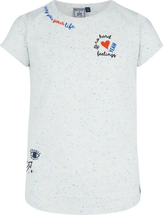 886d6a3f Retour Jeans Meisjes T-shirt - Off white - Maat 146/152