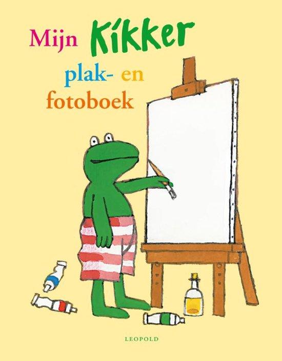 Boek cover Kikker - Mijn Kikker plak- en fotoboek van Max Velthuijs (Hardcover)