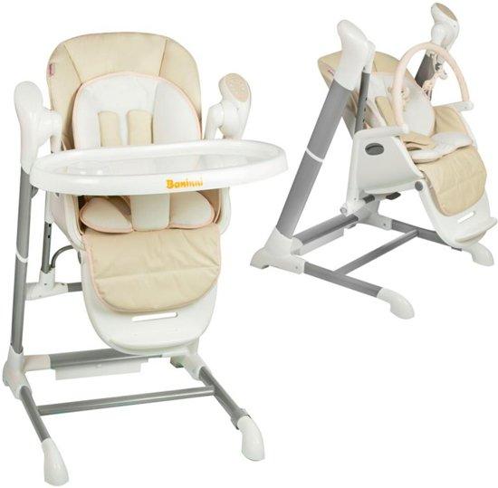 Kinderstoel Baby 0 Maanden.Bol Com Baninni Kinderstoel Swing Ugo Beige