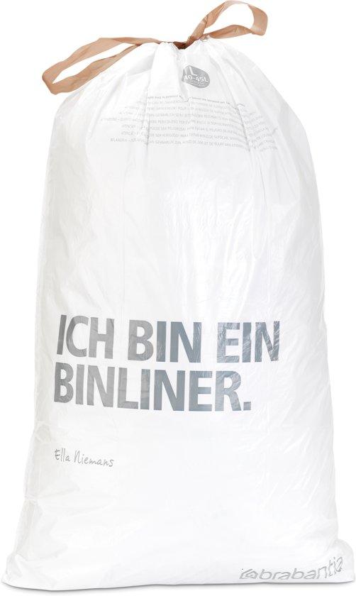 Brabantia Afvalzak Code L - 40-45 Liter (10 stuks)