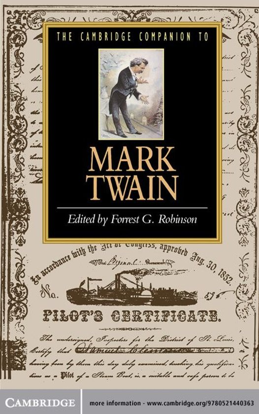 mark twain author info essay