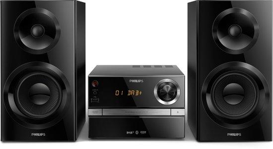 Philips BTB2370 - Microset met DAB+ Radio - Zwart