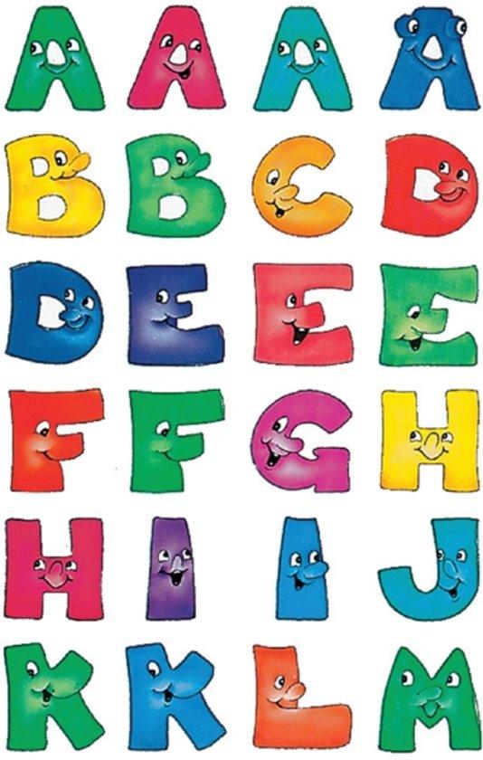 Herma 4194 Etiket met letters A-Z 20mm Gezicht