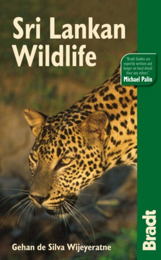 Natuurgids: The Bradt Travel Guide Sri Lankan Wildlife cover