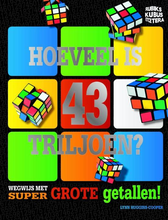 Rubik's Kubus - Hoeveel is 43 triljoen?