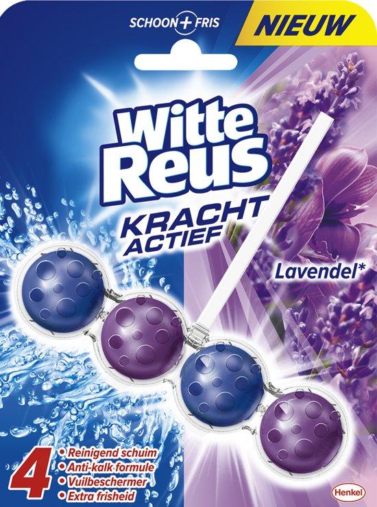 bol.com | Witte Reus WC Kracht Actief Lavendel - 50 gr - Toiletblok
