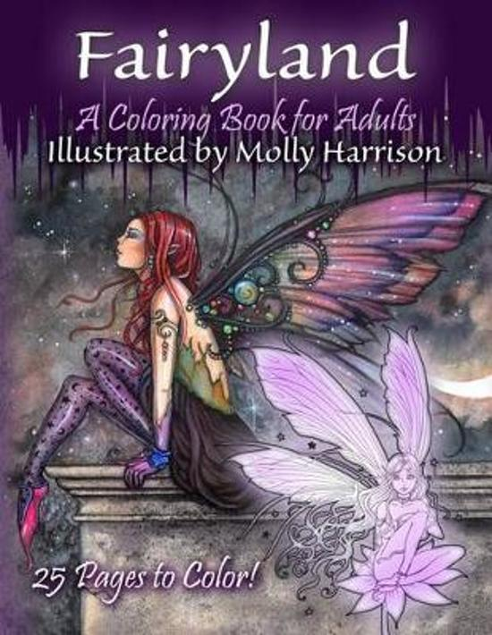 Fairyland - A Coloring Book for Adults