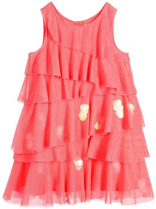 27862ea36cfb47 Billieblush jurk Fuchsia Pink Maat  110 (5 jaar)