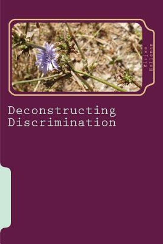 constructive discrimination Selected list of pending and resolved cases under the age discrimination in employment act (adea) of his age which ultimately resulted in his constructive.