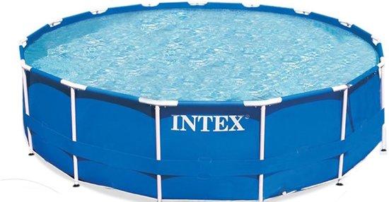 Intex Metal Frame pool 457 x 107cm incl. accessoires