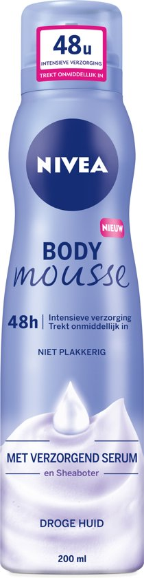 NIVEA Zijdezachte Body Lotion Mousse - 200 ml