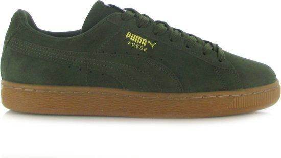 921bc3703fa bol.com   Puma Suede Classic Donker Groene Sneakers