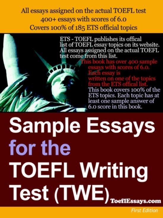 get toefl twe essay Get essay help 214 toefl sample essay116 of 344 results for toefl essay how to prepare for the toefl essay sample essays for the toefl writing test (twe.