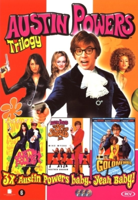 Totally Groovy Modern Nails With A Mod Flair: Austin Powers Totally Groovy Collection (Dvd