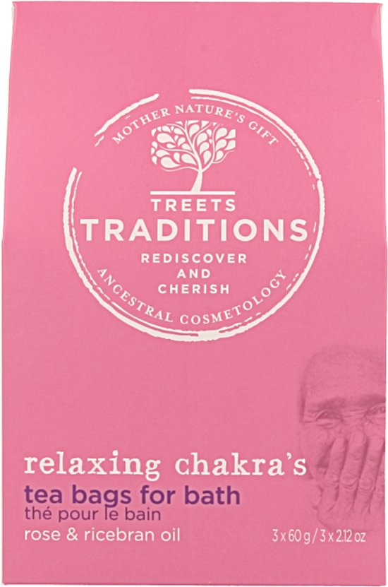 Treets Traditions Relaxing Chakra's badthee - 70 gr