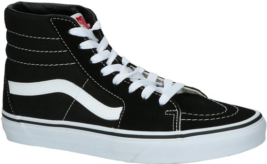 Vans UA SK8-HI Black/Black/White VD5IB8C-Sneakers-Unisex - Maat  39