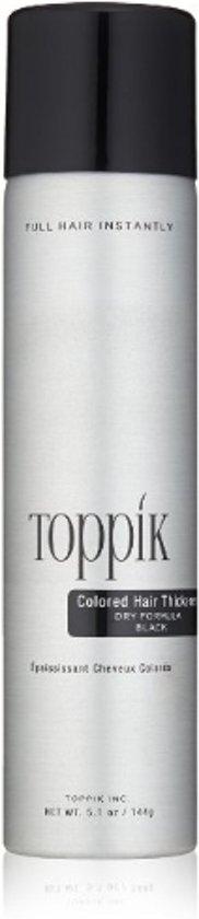 Haargroei spray Toppik - zwart