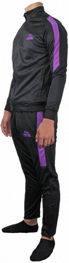 L Legend Trainingspak Zwart Dryfit paars tdsQrCh
