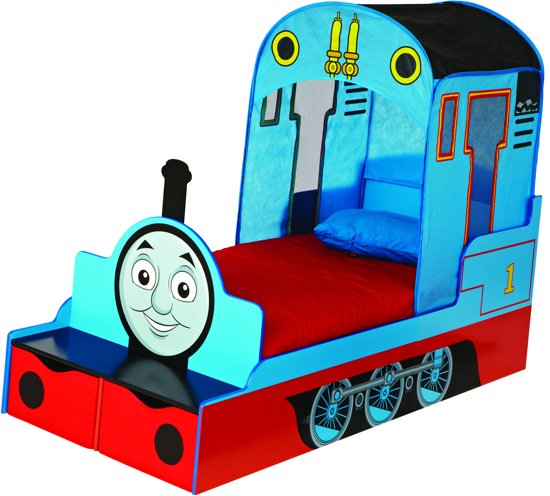 Thomas de Trein - Bed - Blauw