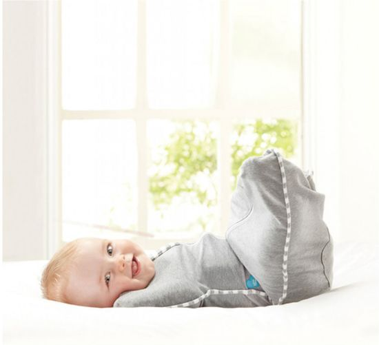 Love to dream - Swaddle UP inbakerslaapzak stage 1 medium blauw