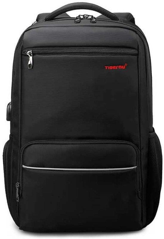 Tigernu Guard laptop rugzak anti diefstal USB 12,5 tot 15,6 Inch zwart