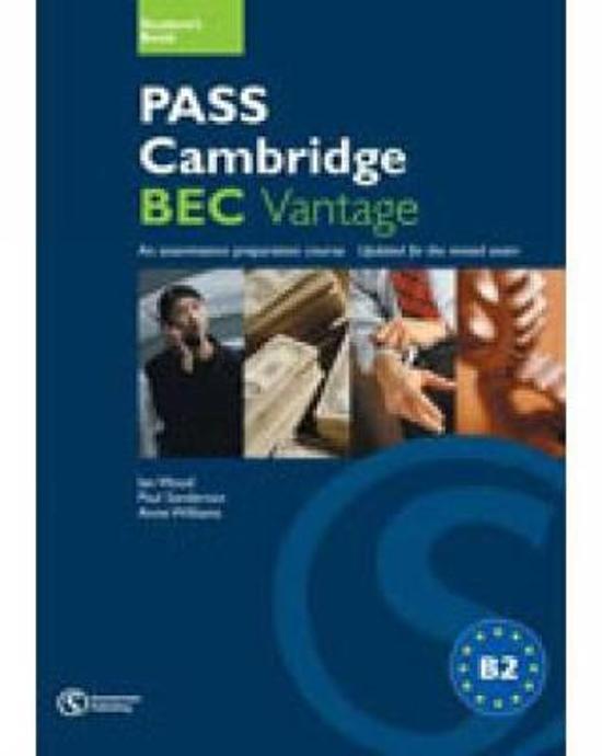 Pass Cambridge BEC Vantage Practice Test Book with Audio CD