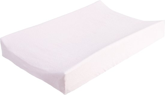 Jollein - Aankleedkussenhoes badstof 50 x 70 cm - Lichtroze