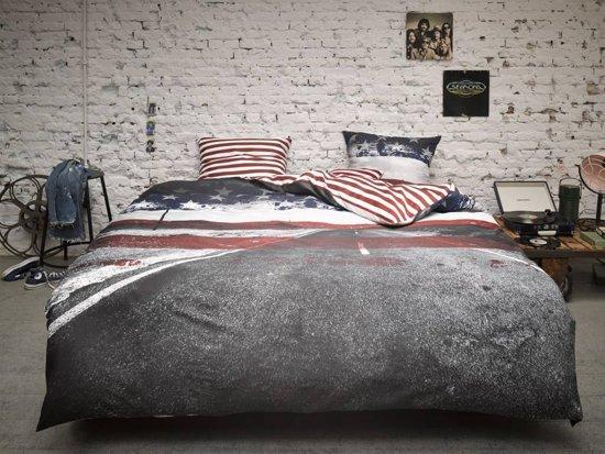 covers co route 66 dekbedovertrek tweepersons 200 x 220 multi. Black Bedroom Furniture Sets. Home Design Ideas