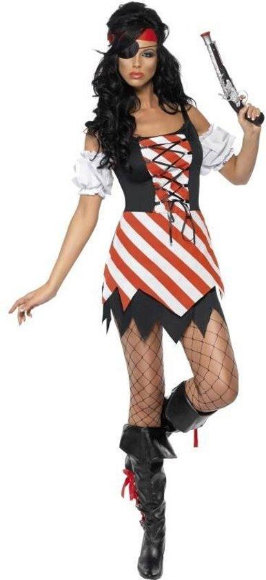 Piratenkostuum voor dames- Verkleedkleding - M - 40-42