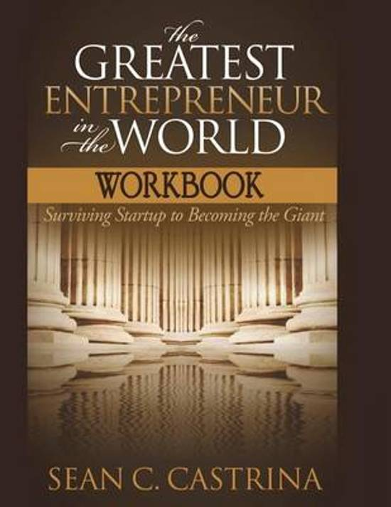 The Greatest Entrepreneur in the World Workbook