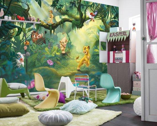 Komar Fotobehang Behang.Komar Fotobehang Lion King Jungle Ideaal Voor Kinderkamer 366 X 254mm