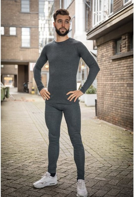 Thermo kleding - Heren - Maat XL - Shirt en Broek - set