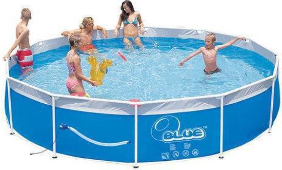 Speedy pool frame zwembad steel set 300 cm met for Zwembad rechthoekig met pomp